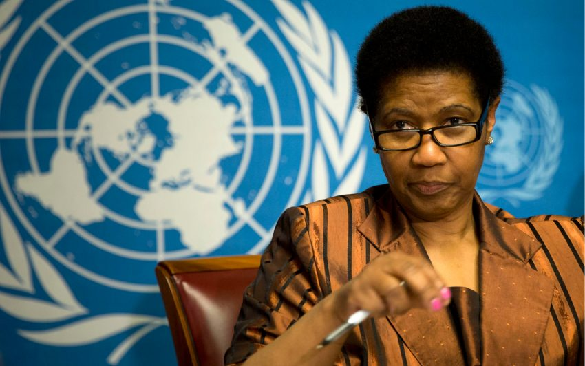 Mlambo-Ngcuka, executive director of U.N. Women